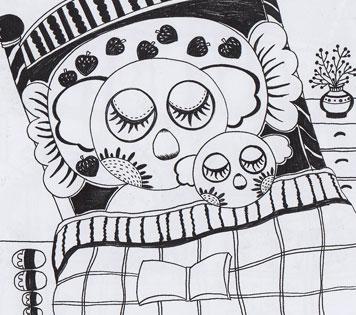 儿童线描画教学-提供教案、画法