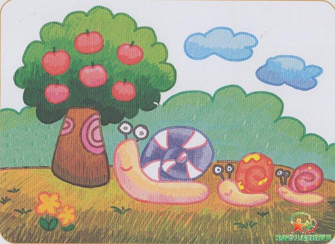 儿童画 684_498图片