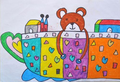 所在页面:网站首页-- 杯子低年级儿童画