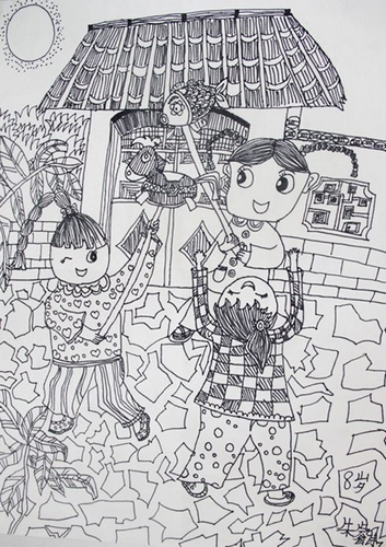 儿童 画 未来 的 桥 图画 图片 下载 画 一