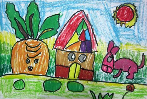 美丽家园/少儿绘画作品/儿童画/网络美术馆