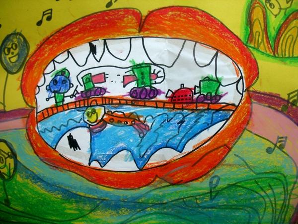 5岁儿童画画作品