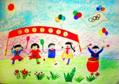 网络美术馆_少儿绘画作品欣赏_儿童画欣赏_中