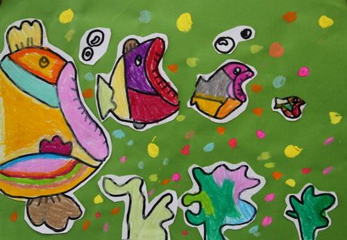 未来生物儿童画内容未来生物儿童画图片