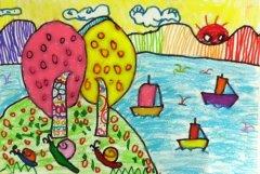网络美术馆_少儿绘画作品欣赏_儿童画欣赏_中国少儿美术教