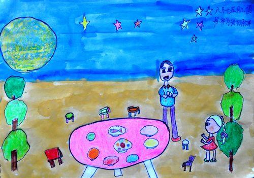 关于中秋节的画 关于中秋节的图画