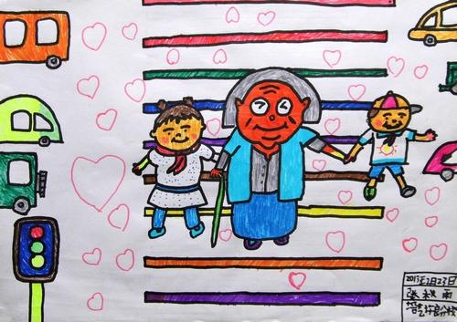 小学生助人为乐绘画大全_助人为乐的绘画_助人为乐的绘画图片_助人为乐的绘画内容